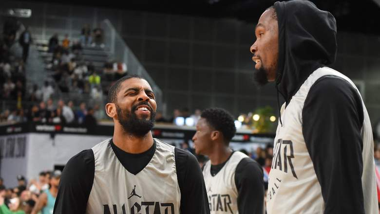 Nets Roster starting lineup Kevin Durant Kyrie Irving